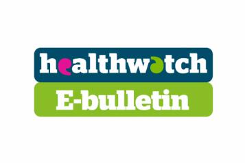 Healthwatch e bulletin logo
