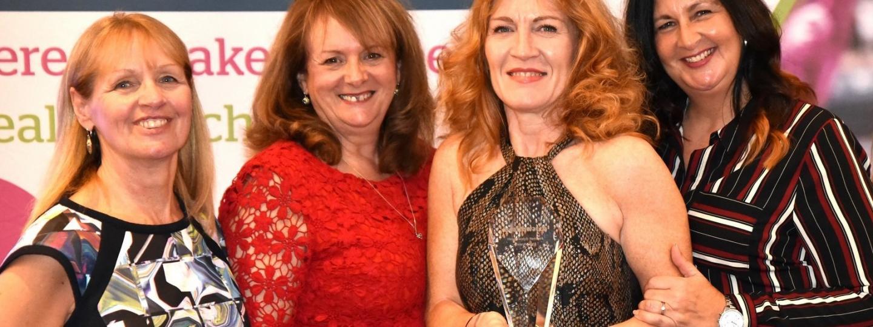 Healthwatch County Durham Team at Healthwatch Awards